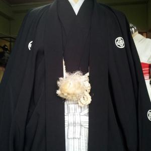 男性の袴の着付け☆久留米美容室