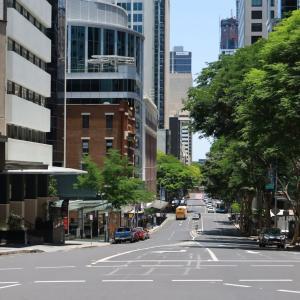 ブリスベンの街 オーストラリアの風景写真/Australia landscape