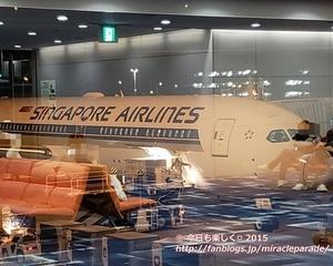 2019秋_3度目のシンガポール・・待望のビジネスクラスでの空の旅