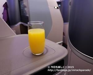 2019秋_3度目のシンガポール・・関空発シンガポール航空の機内食