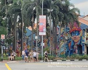 2019秋_3度めのシンガポール・・街中がまるで巨大なアート作品『ハジレーン』