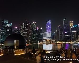 2019秋_3度目のシンガポール・・光と水のショー『SPECTRA(スペクトラ)』
