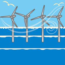 由利本荘市沖洋上風力発電所計画説明会開催