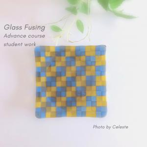 ガラスフュージング インストラクターコースからアドバンスコースへ♡