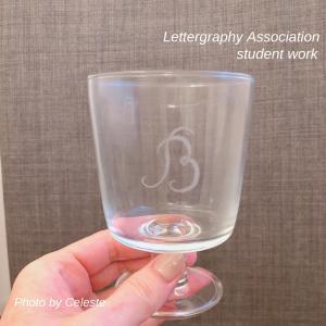レタグラフィー認定講師講座♡ガラスと生活雑貨