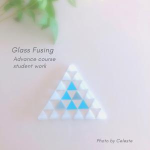 ガラスフュージングアドバンスコースご卒業おめでとうございます♡