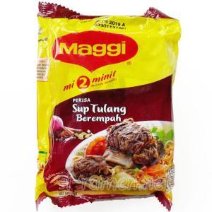 No.6511 Maggi (Malaysia) mi 2 minit Perisa Sup Tulang Berempah