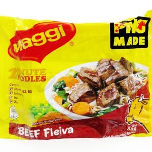 No.6518 Maggi (Papua New Guinea) 2 Minute Noodles Beef Fleiva