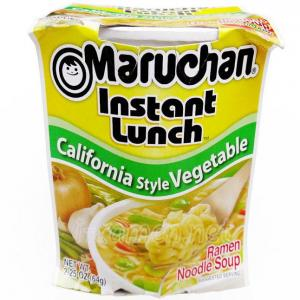 No.6520 Maruchan (USA) Instant Lunch California Style Vagetable