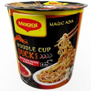 No.6529 Maggi (Swiss)  Magic Asia Noodle Cup Duck Taste