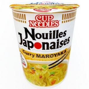 No.6534 Nissin Foods (Germany) Cup Noodles Nouilles Japonaises Curry MAROYAKA