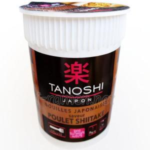 No.6542 楽 (France) Tanoshi Japon Nouilles Japonaises Saveur Poulet Shiitake