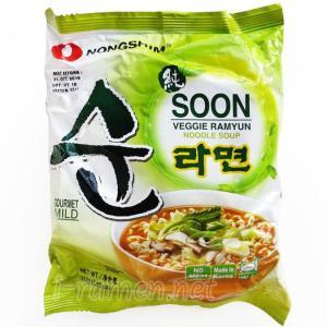 No.6553 農心 (South Korea) Soon Veggie Ramyun