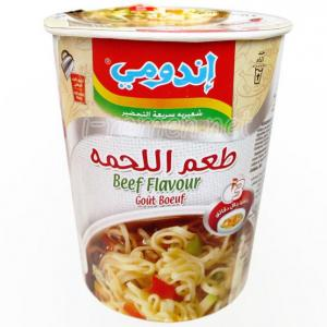No.6557 Indomie (Egypt) Beef Flavour (Cup)