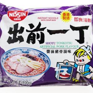 No.6650 日清食品 (hong Kong) 出前一丁 醤油猪骨湯味