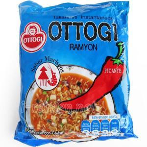 No.6655 Ottogi (South Korea) Ramyon Sabor Mariscos Picante