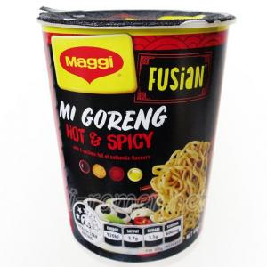 No.6694 Maggi Fusian (Australia) Mi Goreng Hot & Spicy Noodle Cup