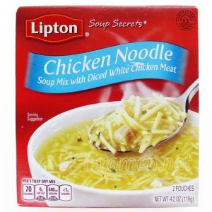 No.6714 Lipton (USA) Soup Secrets Chicken Noodle