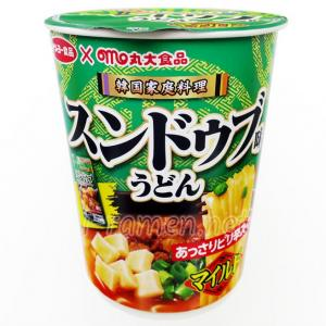 No.6727 サンヨー食品 (Japan) 丸大食品監修 スンドゥブマイルド味 うどん