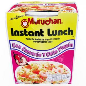 No.6728 Maruchan (USA) Instant Lunch Con Camarón Y Chile Piquín