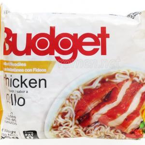 No.6749 Budget (Tunisia) Instant Noodles Chicken Simulated Flavor