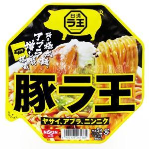 No.6757 日清食品 (Japan) 日清豚ラ王 ヤサイ、アブラ、ニンニク
