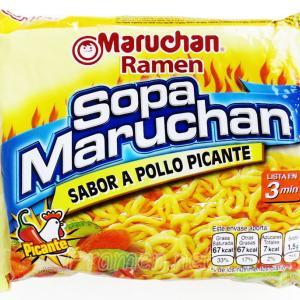 No.6758 Sopa Maruchan (USA) Sabor a Pollo Picante
