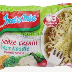 No.6810 Indomie (Turkey) Sebze Çeşnili Hazir Noodle