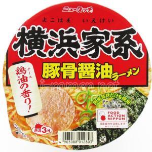 No.6839 ヤマダイ ニュータッチ 横浜家系豚骨醤油ラーメン