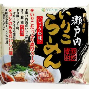 No.6914 純正食品マルシマ 瀬戸内いりこらーめん しょうゆ味