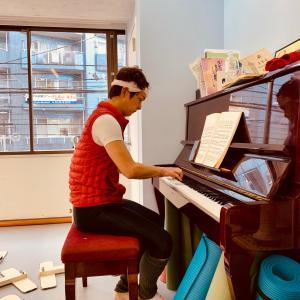 続・ピアノ練習と、ライブ続報