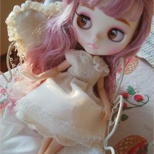 ドール服*白いドレス♪