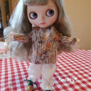 ふわふわモヘアのセーター*