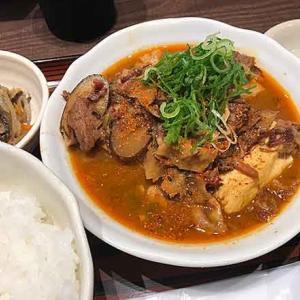 肉豆腐定食!