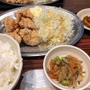 ランチは塩鶏唐揚げ定食!
