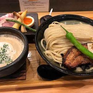 「麺家 幸先坂」の厚切り焼豚つけ麺 特製盛り!