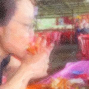 年末年始マレーシア旅行2019-2020その22@ポートクランの突端でシーフードを食べる