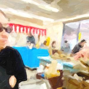 大洗のカキ小屋に牡蠣を食べに行く@茨城県大洗町