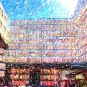 浅草 鳳神社の酉の市でお多福ちゃんを返してお参りです