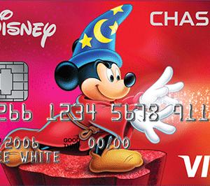 Disney Chase VISA 500ドル利用で200ドル ゲット!