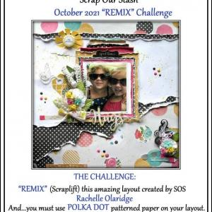 """""""BEST SMILE in POOL TIME!"""" (Scrap Our Stash Challenge October 'REMIX' Challenge)"""