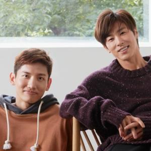 ユノとチャンミンは日本へ出国!