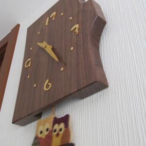 点検のその後とかわいい時計