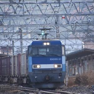 本日撮影 中央東線貨物2083レより