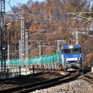 本日と11月30日撮影 中央東線貨物より