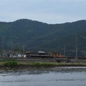 本日の撮影 EF64-1052号機が牽く長野ロンチキ工臨返却より