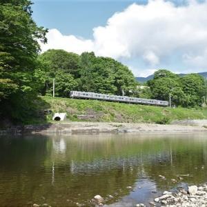 本日の撮影 飯田線は天竜川から撮影 その1