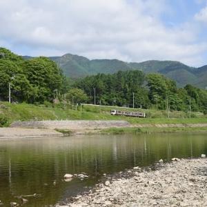 5月24日撮影 飯田線は天竜川から撮影 その2