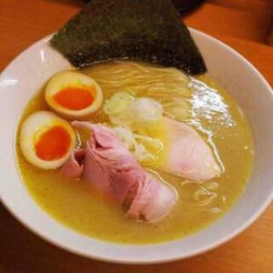 麺処 ろくめい@上尾市 三回連続の鶏白湯真鯛そば・・・前回の値段ミステイクでした(@_@;)