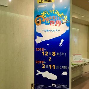 エキスポセンター 企画展「のぞいてみよう知らない世界ー深海たんけんー」レポ!